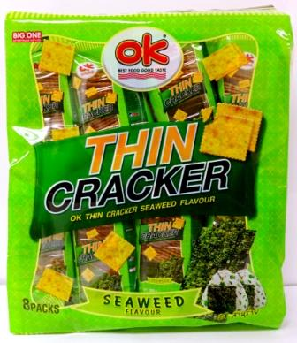 OK THIN CRACKER - SEAWEED